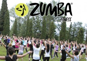 Zumba fitness a Treviso all'aria aperta